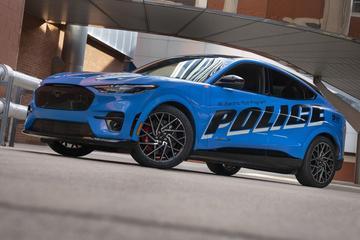 Ford Mustang Mach-E heeft meer politieambitie
