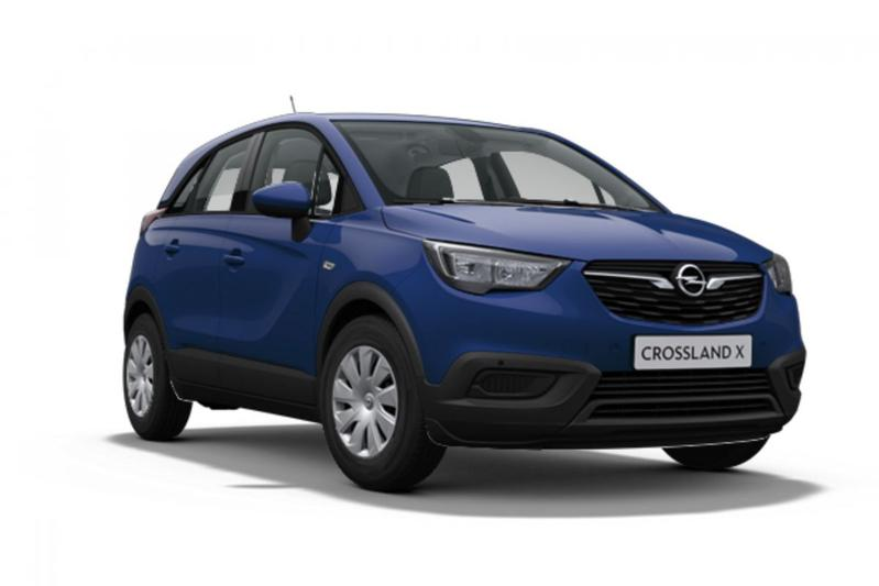 Opel Crossland X back to basics