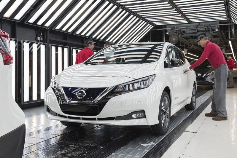 Nissan levert 300.000e Leaf
