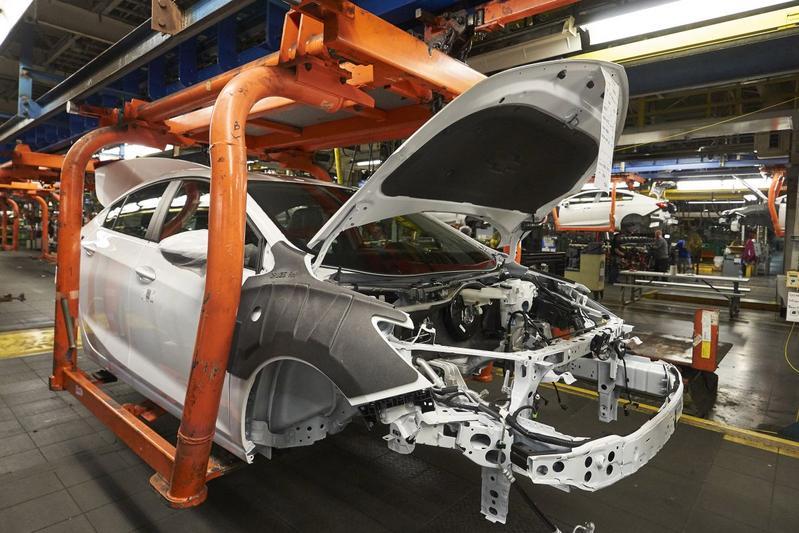 General Motors Chevrolet Cruze Ohio Korea productie