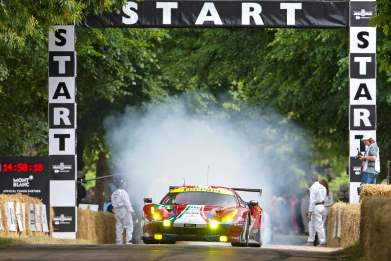 On tour: Goodwood Festival of Speed