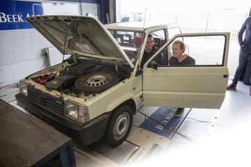 Fiat Panda 1000 CLX - Op de Rollenbank