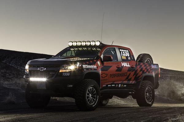 Chevrolet Colorado ZR2 klaar voor woestijnfestijn