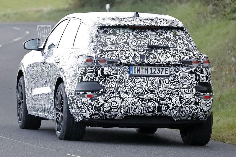Spyshots Audi Q6 e-tron