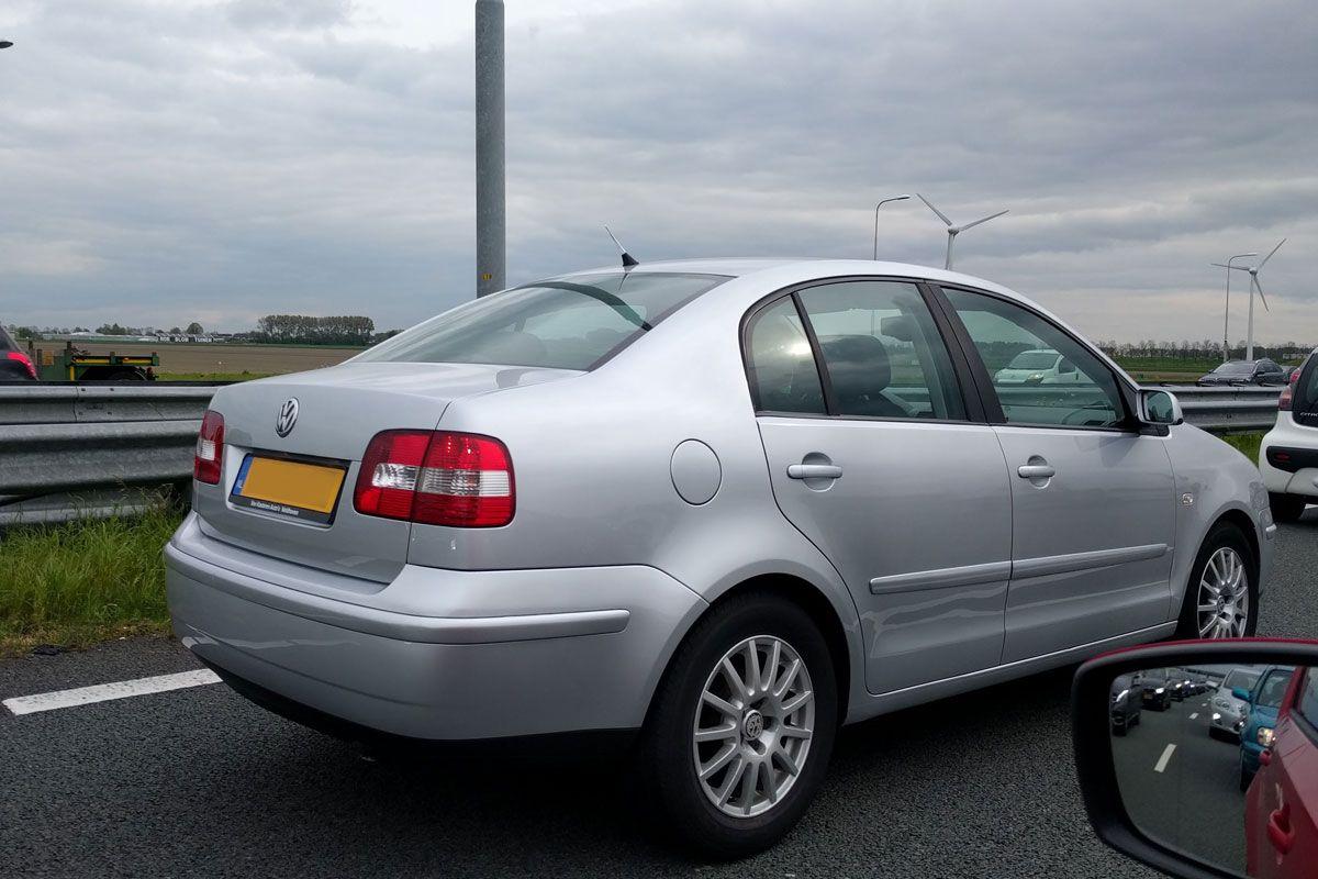 In Het Wild Volkswagen Polo Sedan 2004 Autoweek Nl