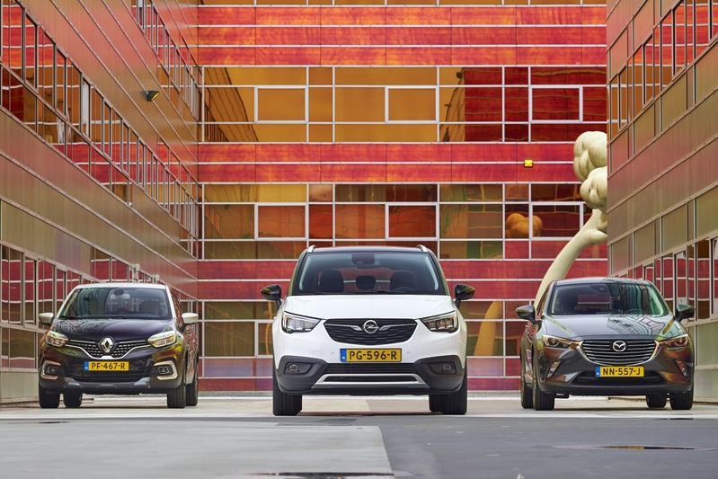 Opel Crossland X Mazda CX-3 Renault Captur multite