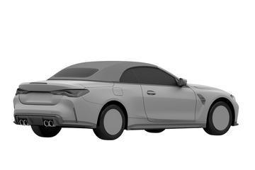 BMW M4 Cabrio in beeld