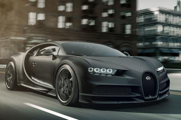 Doe maar zwart: Bugatti Chiron Noire
