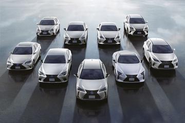 Lexus verkoopt twee miljoenste geëlektrificeerde auto