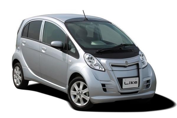 De Tweeling: Mitsubishi i-MiEV - Mitsuoka Like