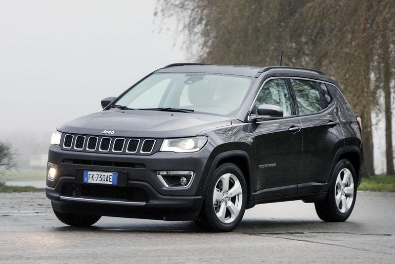 Jeep Compass 1.6 MultiJet Limited 120 pk (2018)