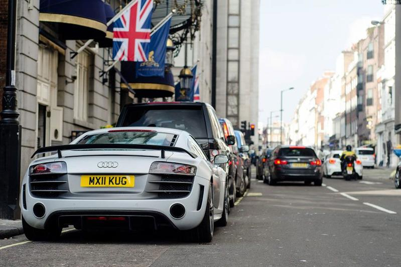 Londen supercars