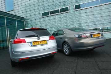 Opel Insignia Sports Tourer - Saab 9-5 Sport Sedan