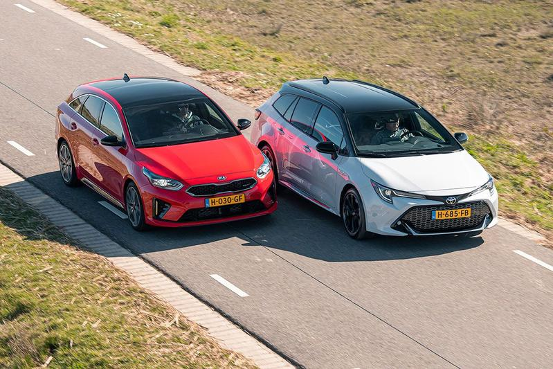 Toyota Corolla Touring Sports 2.0 Hybrid vs. Kia Proceed GT - Dubbeltest