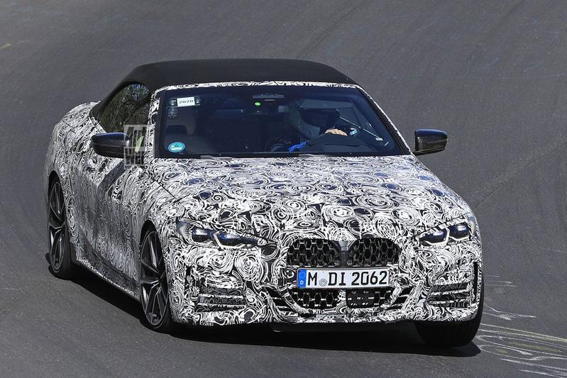 BMW 4-serie Cabrio spyshots