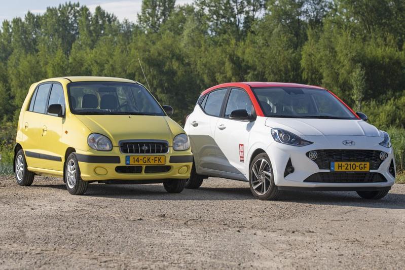 Hyundai Atos / i10 - Oud & Nieuw