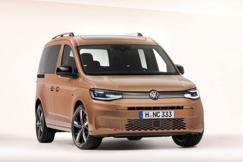 Volkswagen Caddy gelekt