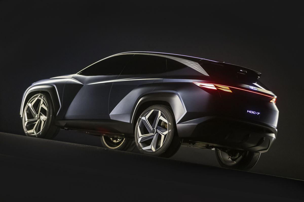 Hyundai PHEV SUV Concept (Los Angeles 2019) 30