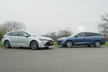 Toyota Corolla vs. Ford Focus - Dubbeltest