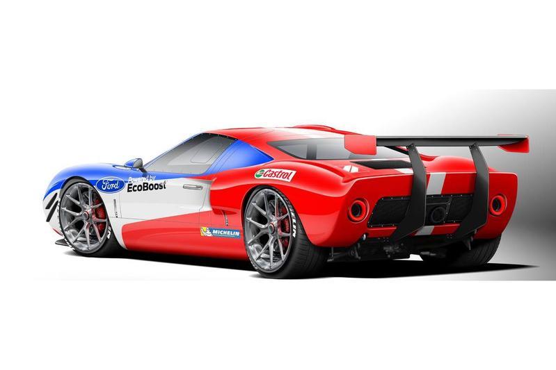Ford 'GT40' met Ecoboost naar SEMA