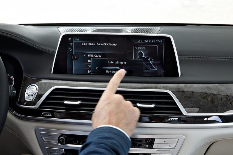 BMW 7-serie infotainment