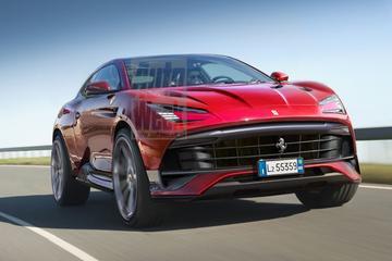 'Ferrari werkt aan meerdere elektrische SUV's'