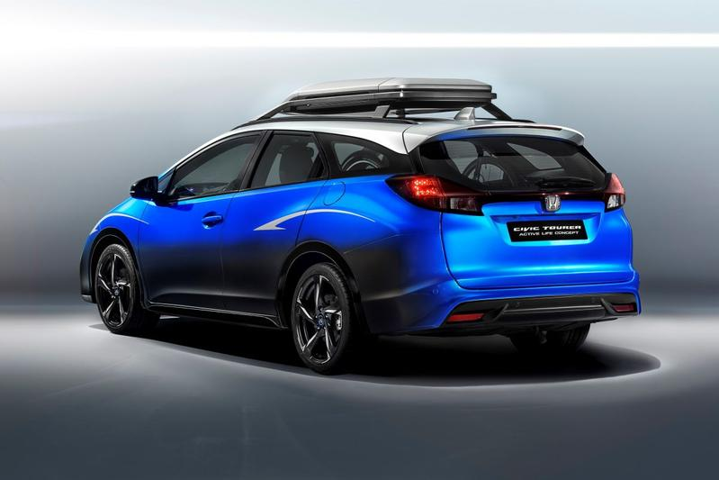 Honda Civic Active Life Concept naar IAA