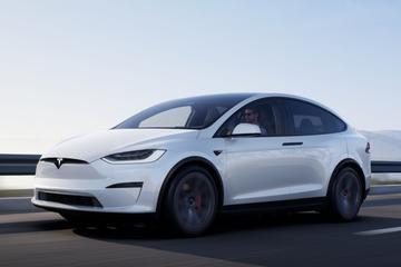 Tesla Model X vernieuwd