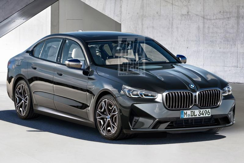 BMW 5-serie illustratie
