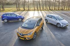 Ford C-Max - Renault Scénic - Volkswagen Golf Sportsvan