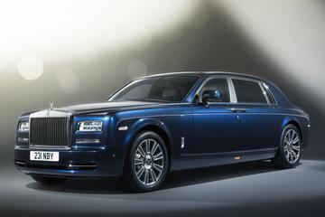 Rolls-Royce Phantom Limelight: marineren in weelde