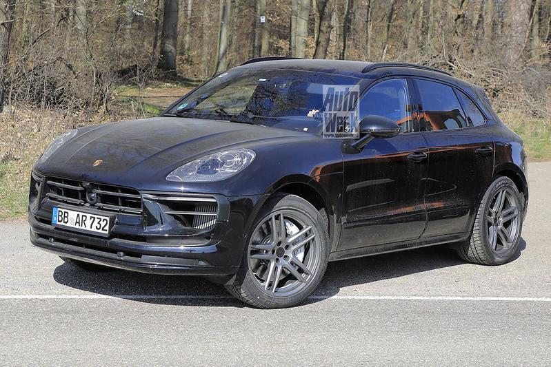 Spyshots Porsche Macan