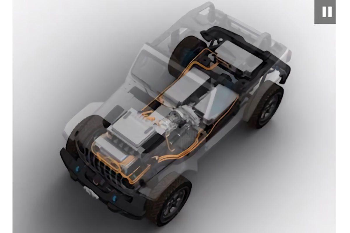 Jeep Wrangler BEV Concept en Grand Cherokee 4xe