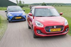 Suzuki Swift vs. Toyota Yaris - Dubbeltest