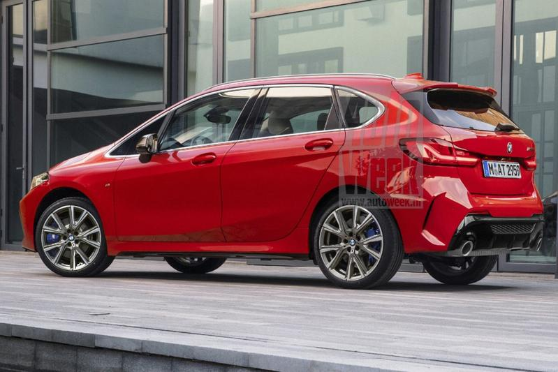 BMW 2-serie Active Tourer render