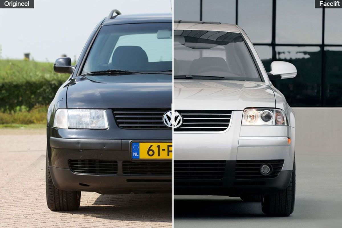 facelift friday volkswagen passat b5 autonieuws. Black Bedroom Furniture Sets. Home Design Ideas