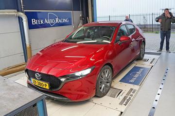 Mazda 3 Skyactiv-G 2.0 - Op de Rollenbank