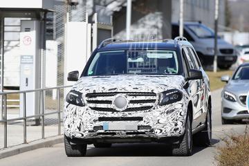 Mercedes test nieuwe GLS nu in Europa