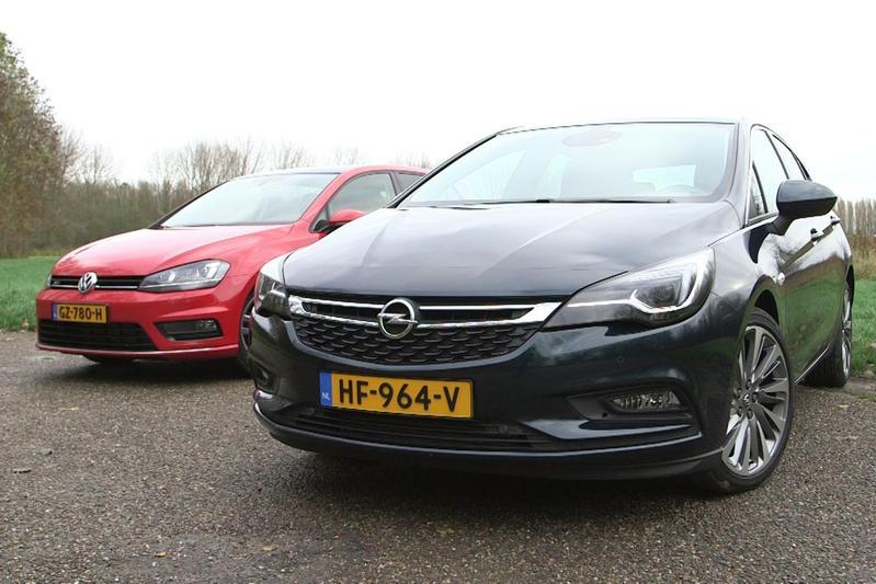 Dubbeltest - Volkswagen Golf vs. Opel Astra