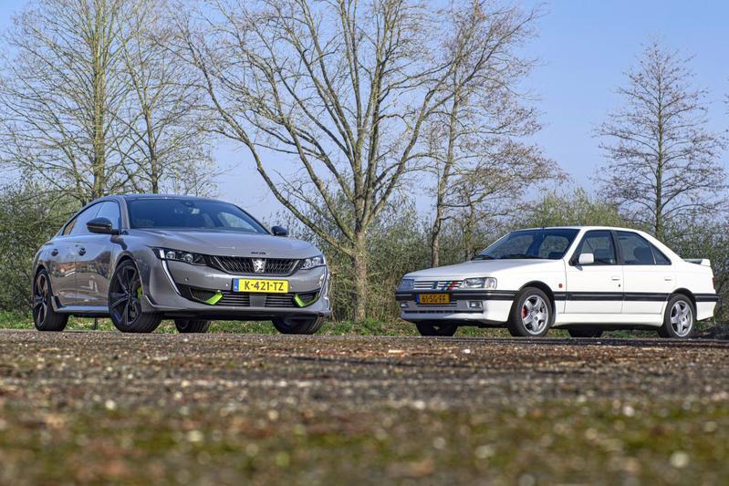 Test: Peugeot 508 PSE vs. Peugeot 405 T16