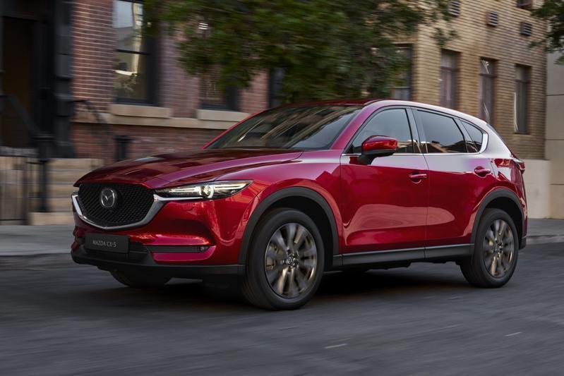 Mazda CX-5 modeljaarupdate 2020