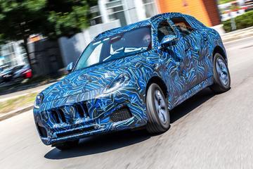 Maserati Grecale duidelijker in beeld