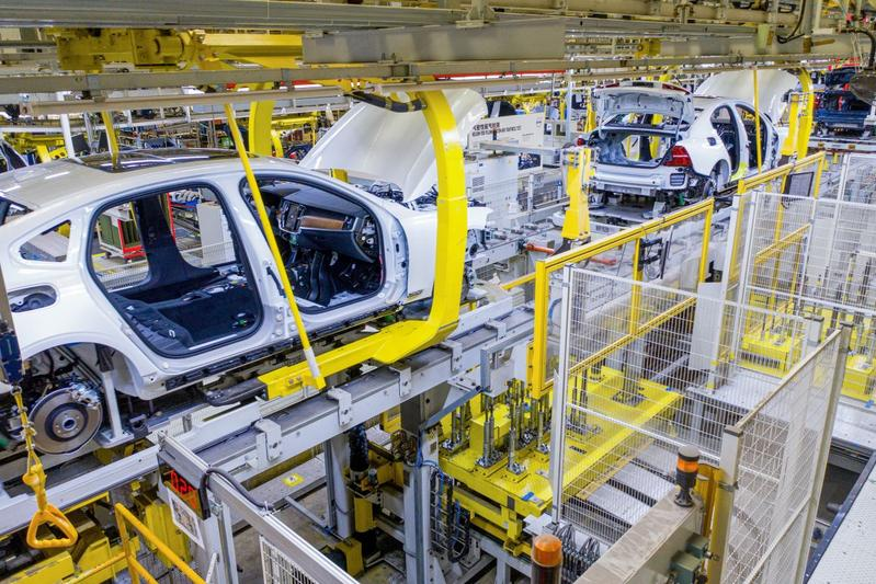Volvo China fabriek bouw