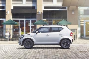 Uitrusting nieuwe Suzuki Ignis belicht