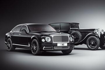 Bentley Mulsanne W.O. Edition is los