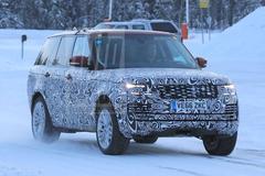 Gesnapt: facelift-Range Rover