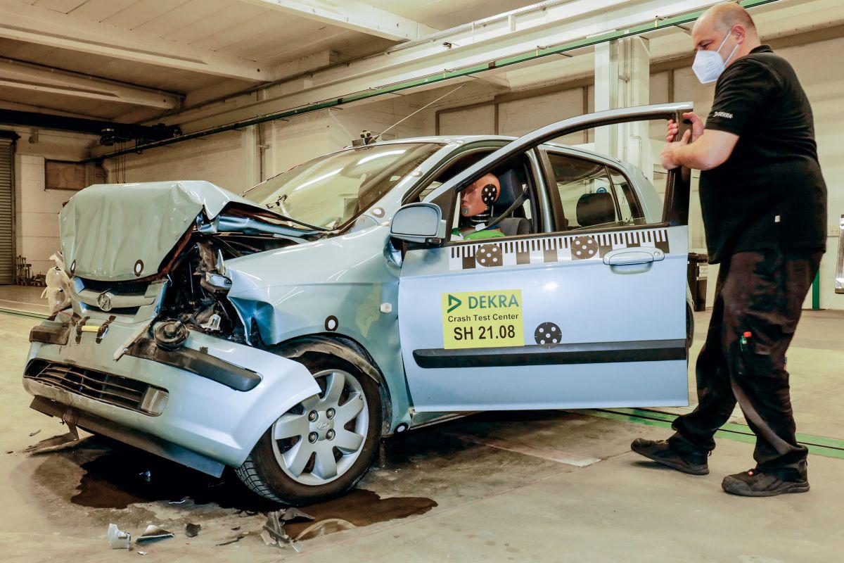 Hyundai Getz crashtest