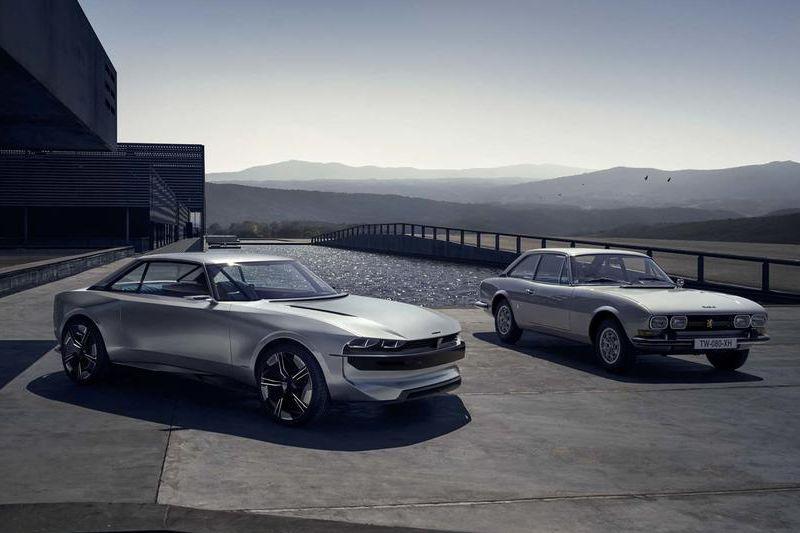 Peugeot e-Legend Concept breekt los