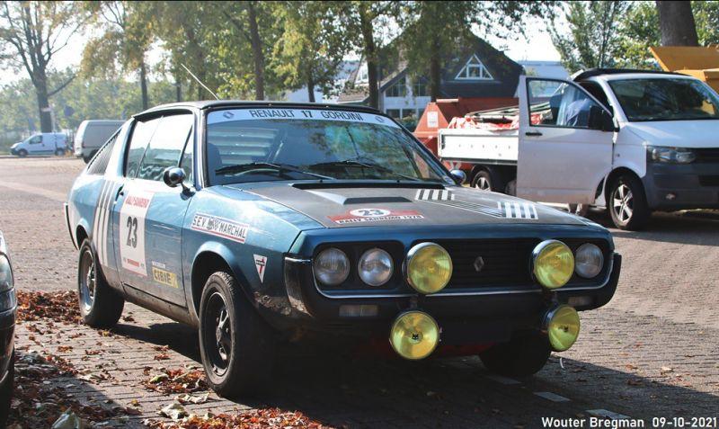 Renault 17 Gordini - In het Wild