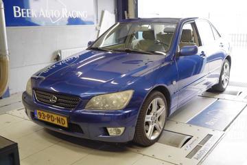 Lexus IS200 Sport - Op de Rollenbank